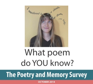 Poetry and Memory Survey Poster - Version 2
