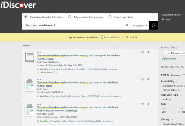 idiscover search 2