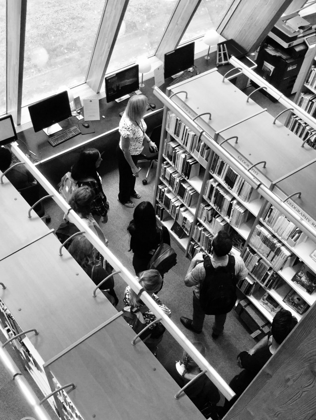 Sept - Geography PGCE Library tour