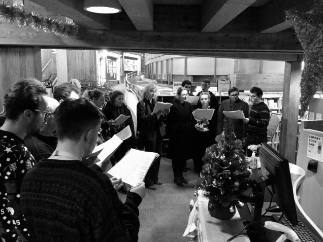 Dec - Carol singers